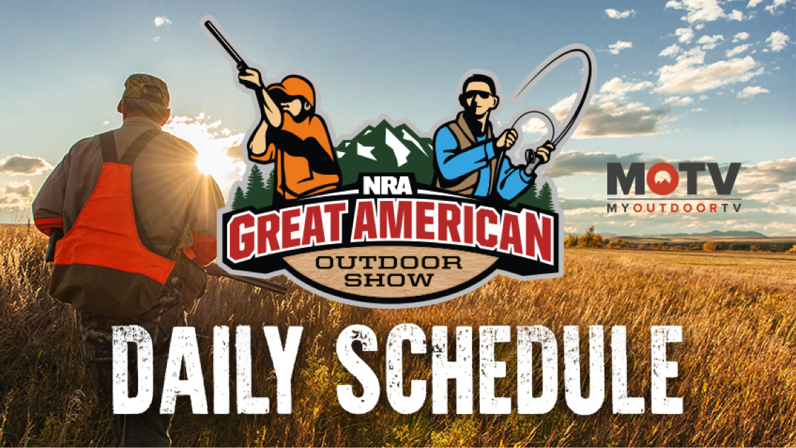 2018 Great American Outdoor Show Daily Schedule - Tuesday, February 6