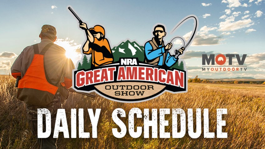 2018 Great American Outdoor Show Daily Schedule - Thursday, February 8