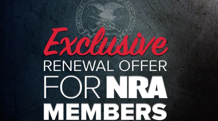 Stand and Fight! Exclusive Renewal Offer For NRA Members