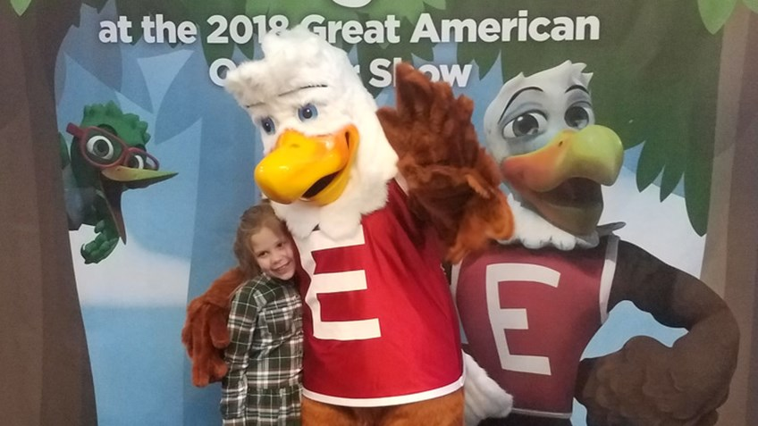 Happy Birthday, Eddie Eagle!