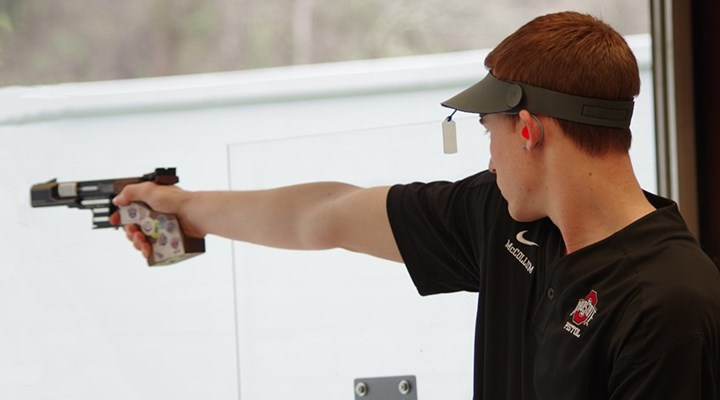 Shooting Sports USA: Ohio State's Anthony McCollum Wins Intercollegiate Standard Pistol Championship