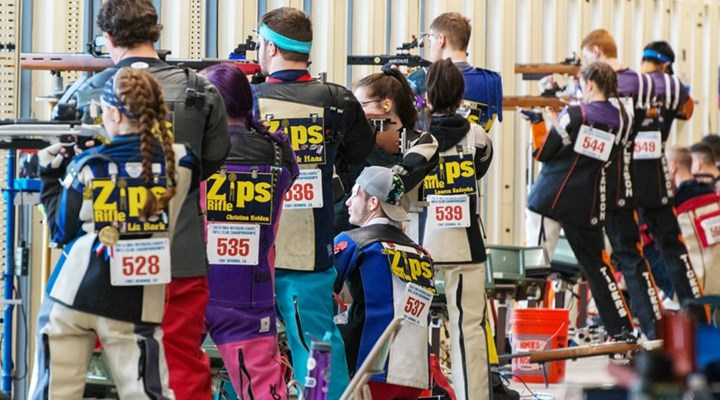 Shooting Sports USA: Akron Repeats as NRA Intercollegiate Rifle Club Champion