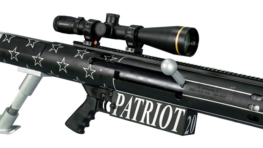 Patriot 20mm Rifle and Big Shot Ranch Shooting Experience Up for Auction on Gunbroker.com