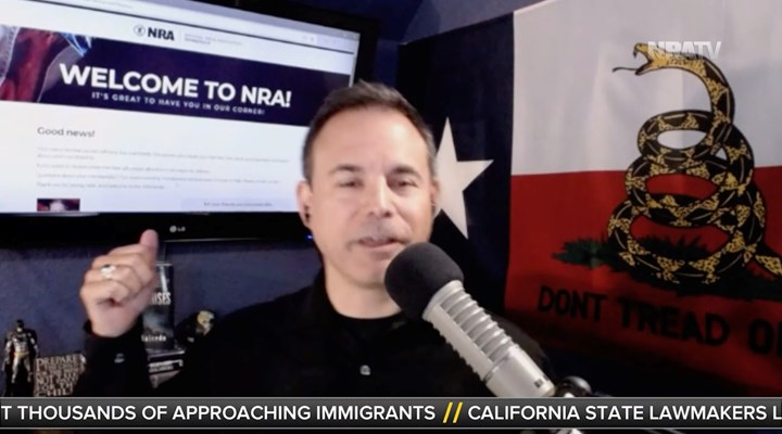 NRATV: Chris Salcedo Joins the NRA on Live TV