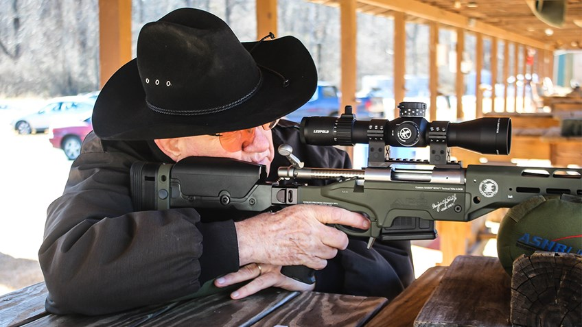 Marine Sniping Legend Collaborates with Friends of NRA on Signature Edition Tactical Rifle