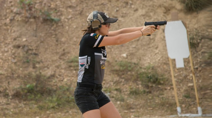 Shooting Sports USA: Lena Miculek Carves Way Through Competitive Shooting World
