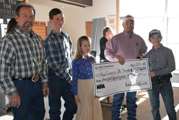 The Journal: Four Corners Friends of NRA presents donations at banquet