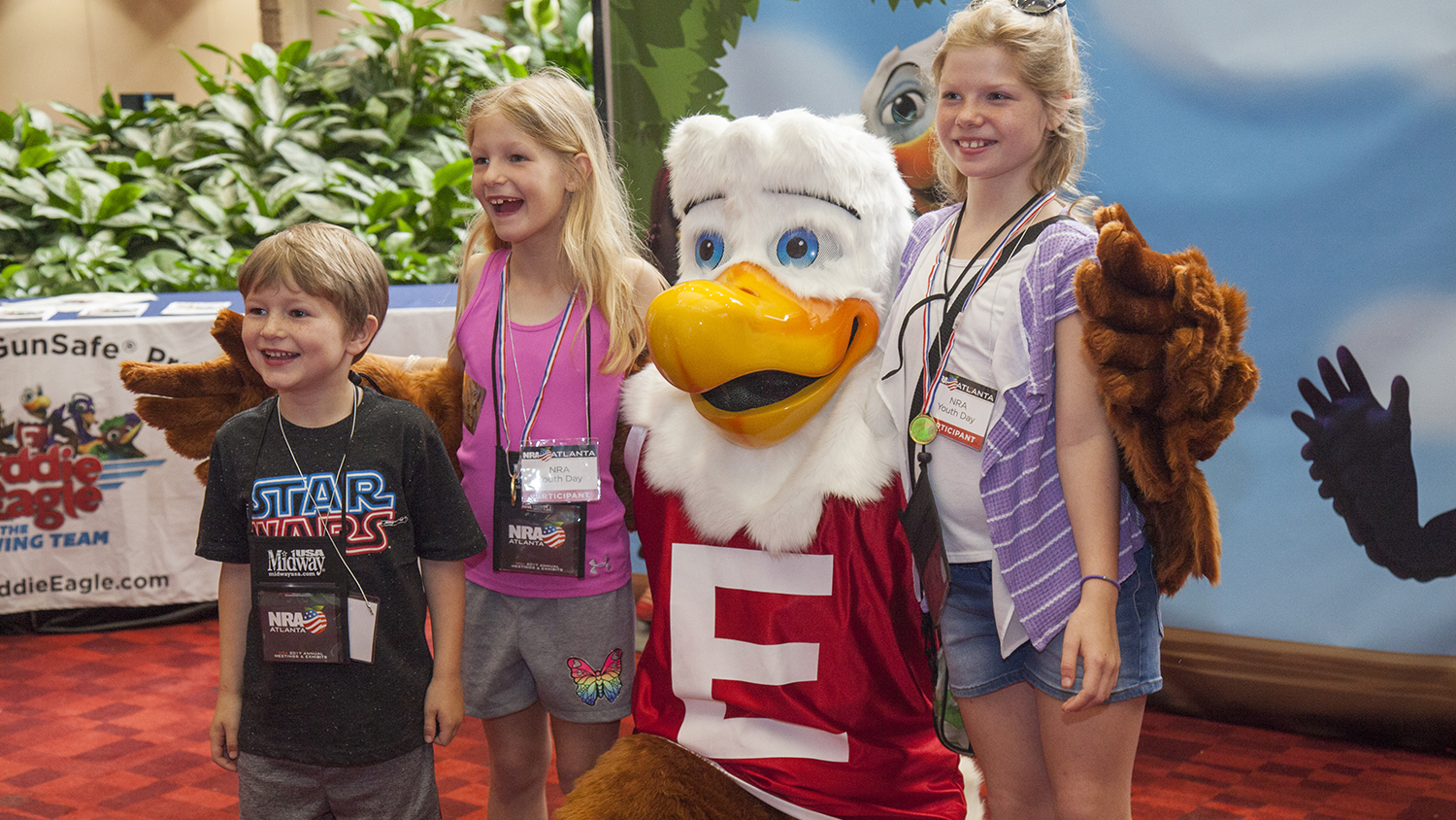 Celebrate with Eddie Eagle at NRA Annual Meetings!