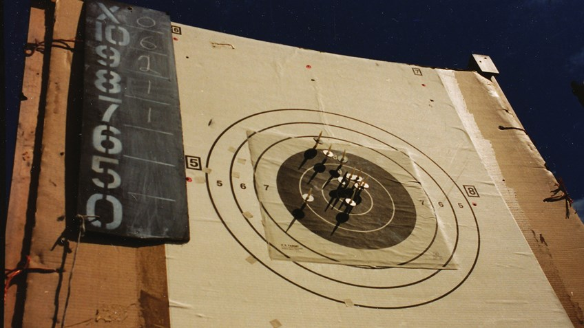 High Power Rifle Across the Course Competition