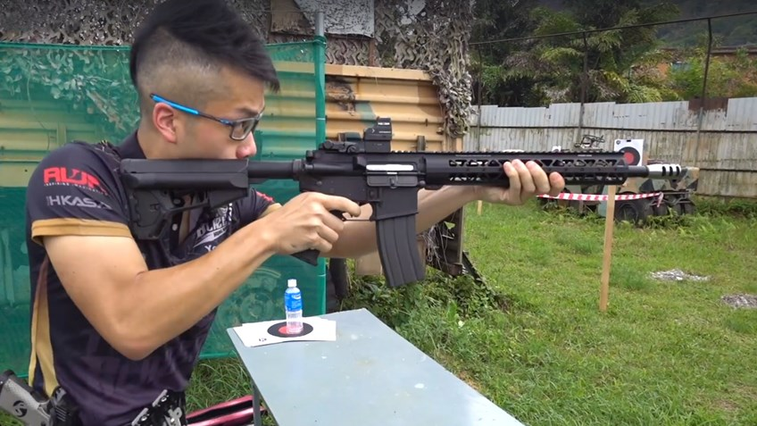 3-Gun Fever in Hong Kong