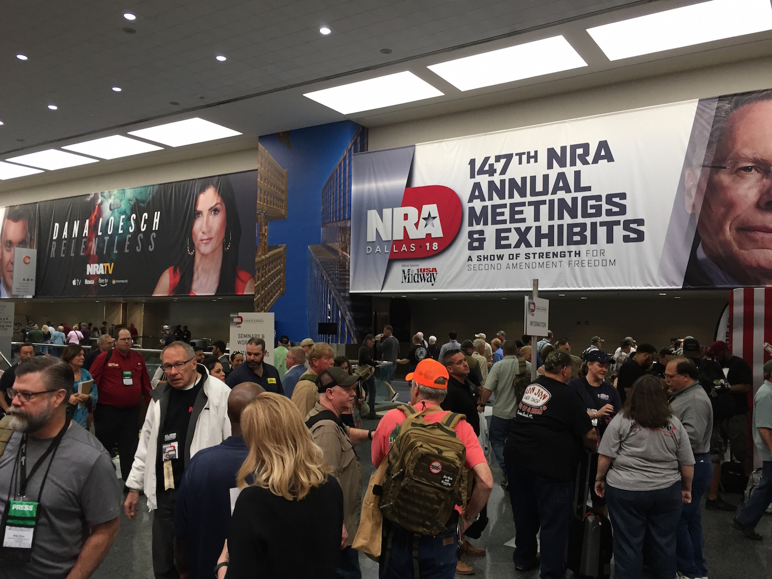 Washington Free Beacon: I Legally Carried a Gun at the NRA Annual Meetings