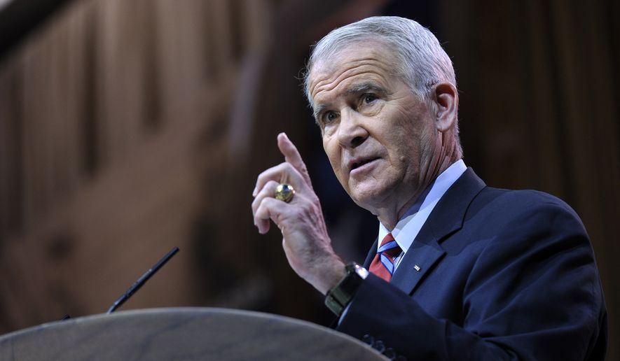 Washington Times: Oliver North Readies NRA 'Counterpunch' Against Gun Control Activists' 'Civil Terrorism'