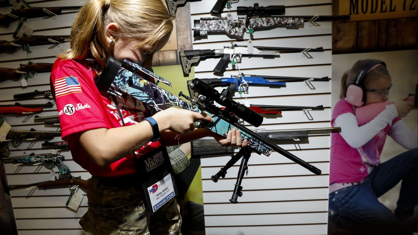 Los Angeles Times: She's a YouTube sensation and NRA darling: Meet 9-year-old sharpshooter 'Alpha Addy'