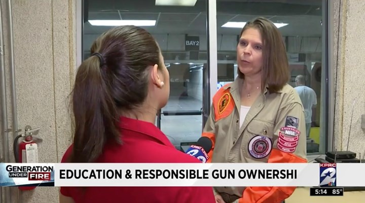 KPRC: Local NRA Community Says Education, Responsible Gun Ownership Key to Safety