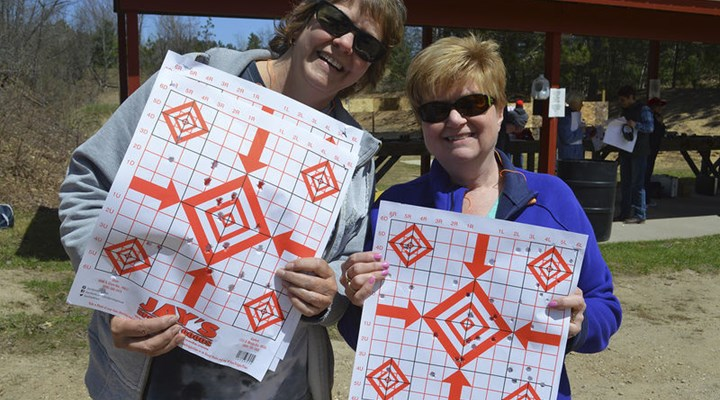 Gaylord Herald Times: Tigger time - 22 take part in 'Women on Target'