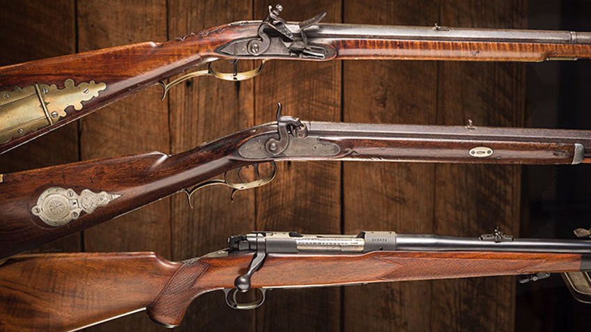 History of the Hunting Rifle in America