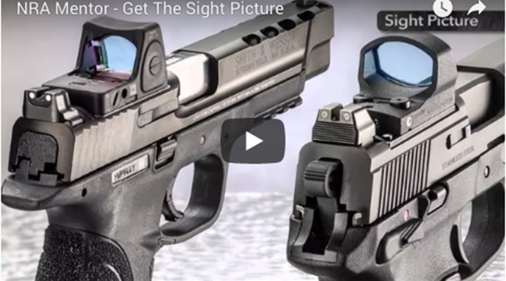 NRA Family: How To Acquire Proper Sight Picture