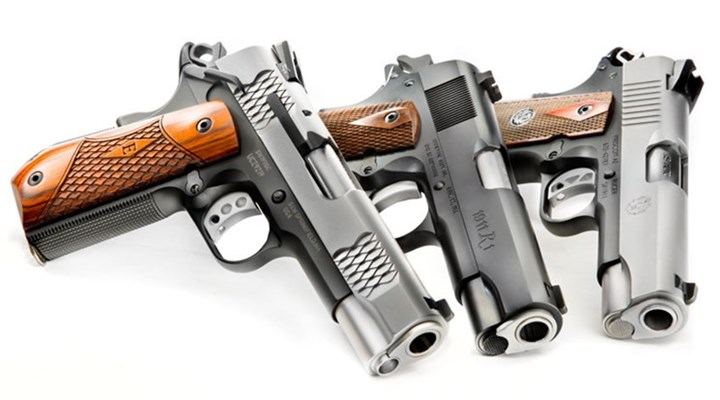 Shooting Illustrated: The Origin of the Commander-Size 1911