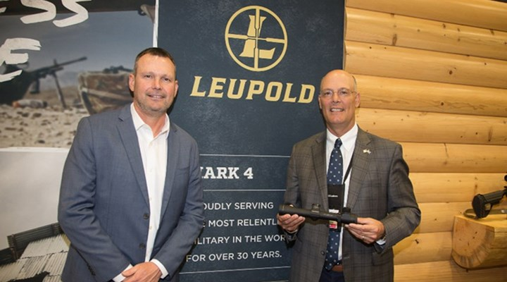 American Rifleman: Leupold Presents USMC Mark 4 Riflescope to NRA's Doug Hamlin
