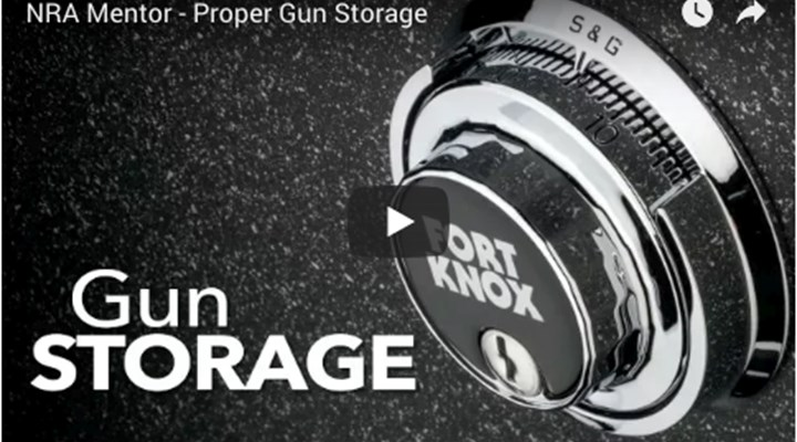 NRA Family: Video: Proper Gun Storage