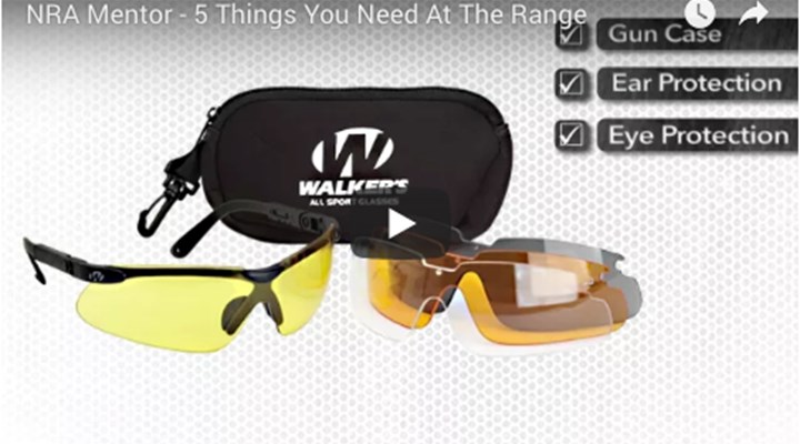 NRA Family: Video: 5 Things You Need at the Range