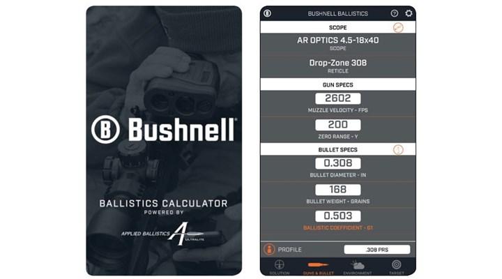 American Rifleman: Product Preview: Bushnell Ballistics App