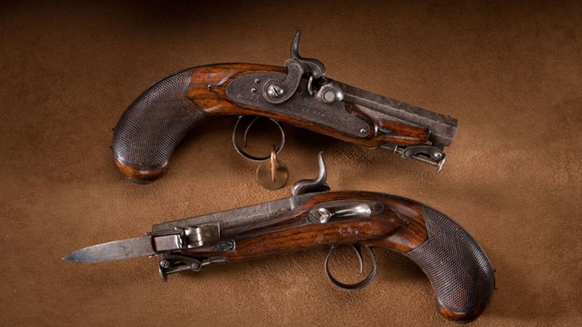 NRA Family: Throwback Thursday: Rigby Great Coat Pistols