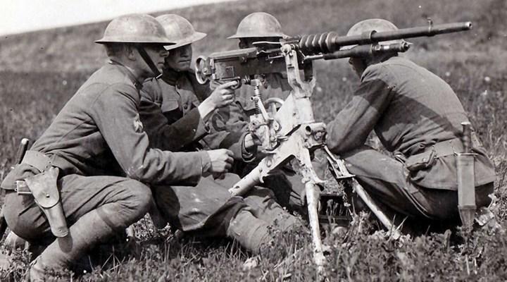 American Rifleman: The Hotchkiss Model Of 1914 Heavy Machine Gun