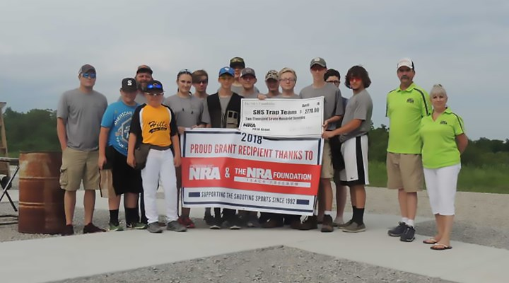 Areawide Media: The NRA Foundation awards $2,770 to Salem High School Trap Team