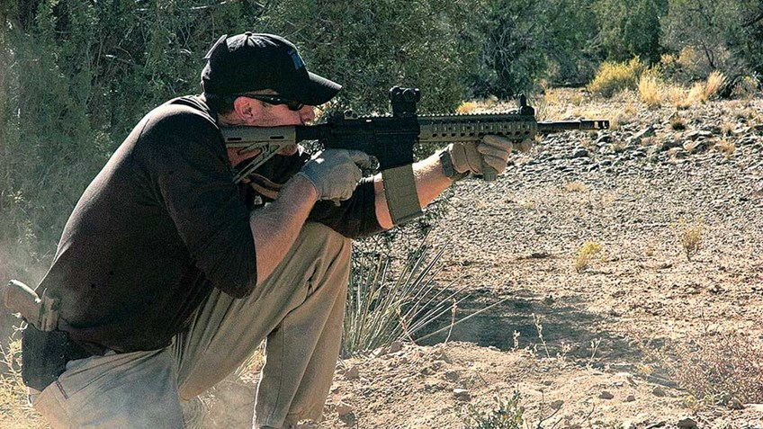 First-Time AR-15 Outing: Shooting Drills & Techniques