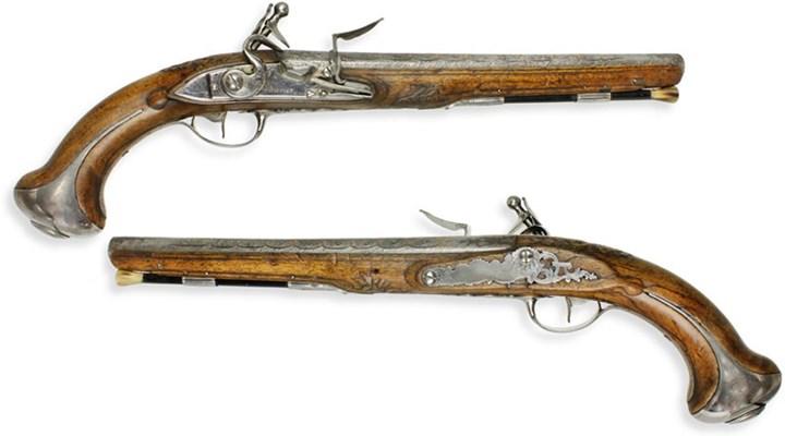 American Rifleman: The Lafayette/Washington Pistols
