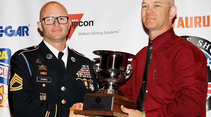 Shooting Sports USA: Bianchi Cup: Franks Wins 2018 Production Championship