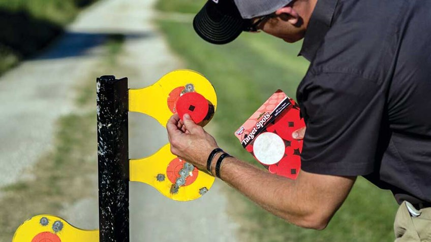 5 Do-It-All Birchwood Casey Steel Targets for Range Training
