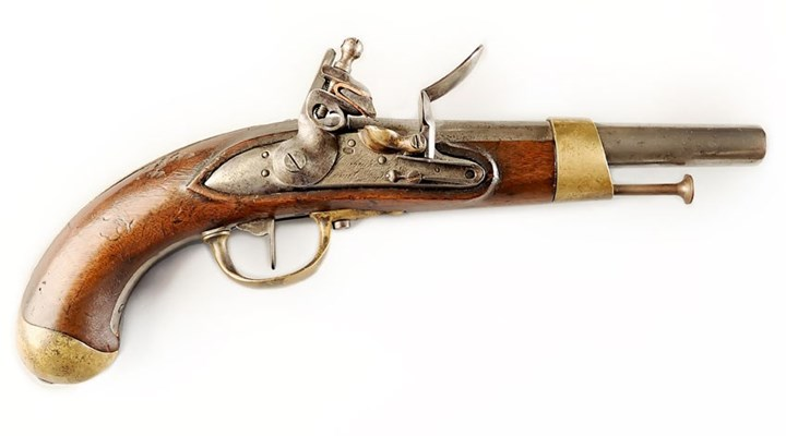 American Rifleman: I Have This Old Gun: French Year XIII Cavalry Pistol