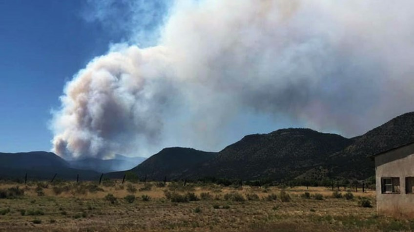 Wildfire Burns 36,000 Acres Near NRA Whittington Center