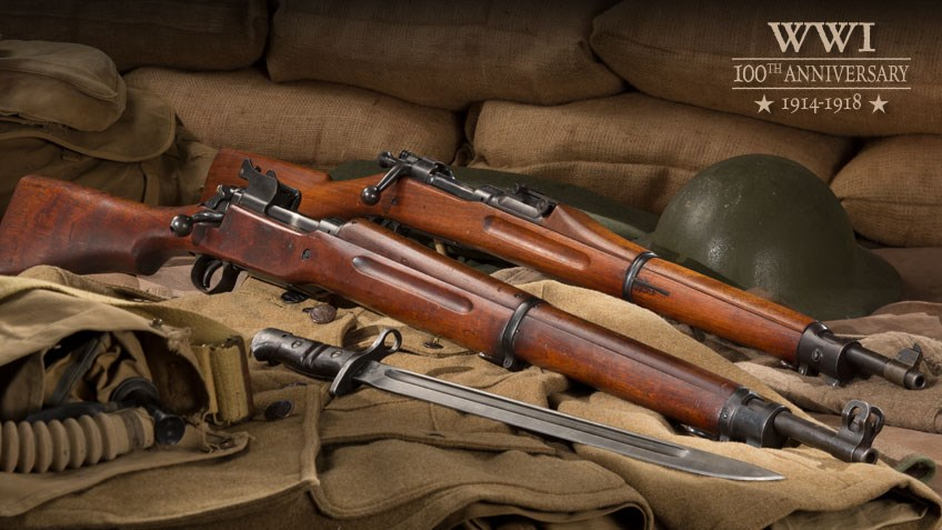 Shooting Illustrated: U.S. Rifles of WWI: The M1903 and M1917
