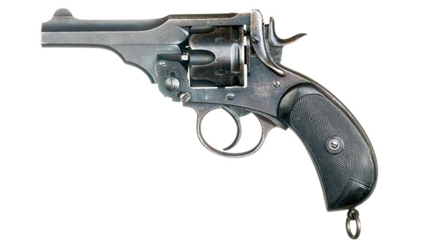 Shooting Illustrated: Classic Guns: Lt. Donald Simpson Bell's Webley Mk V Revolver