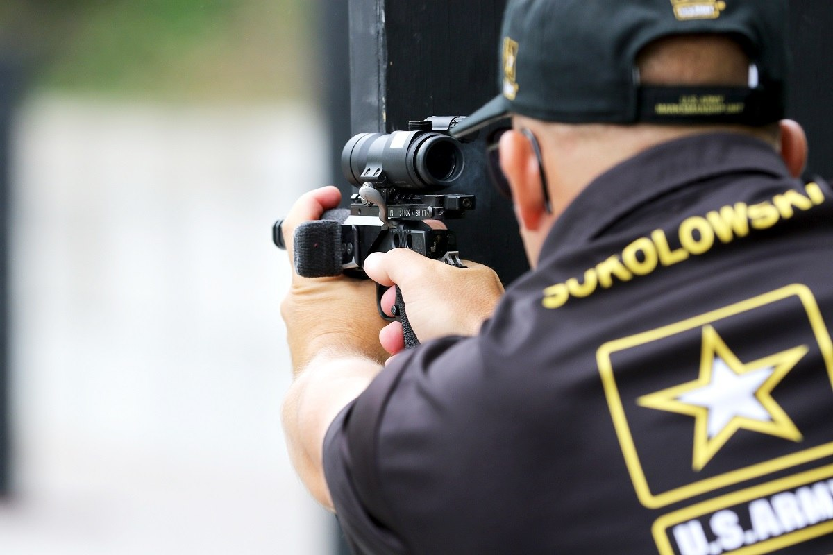 Army Times: Army Shooter Makes History at NRA Bianchi Cup