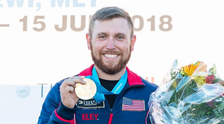 Shooting Sports USA: Three Consecutive ISSF Gold Medals For Vincent Hancock