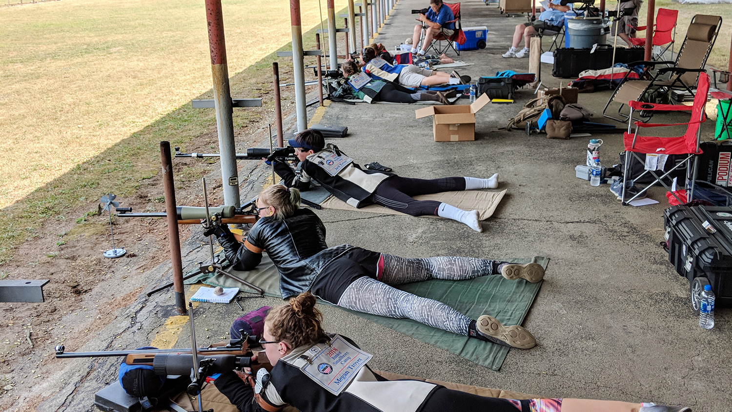 NRA Junior Smallbore Camp Helps Shooters Reach New Personal Best Scores