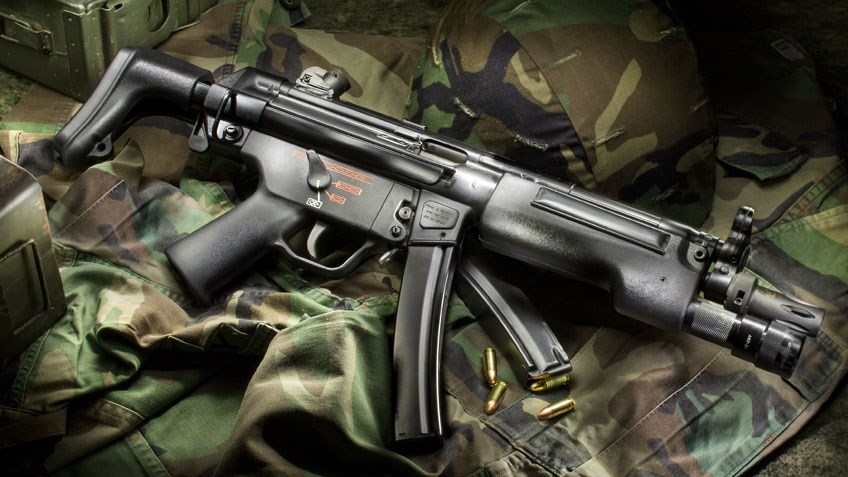 Classic Guns: Heckler & Koch MP5