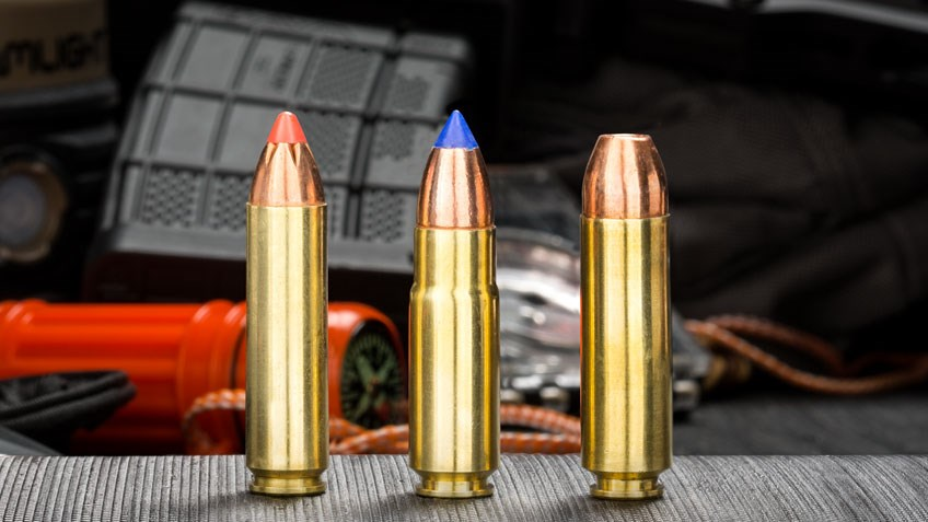 3 Powerful AR-15 Cartridges for Survival Use