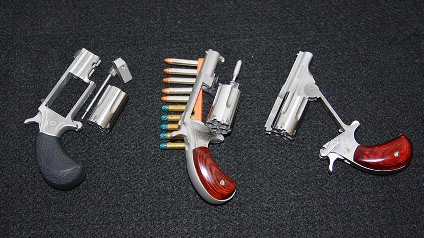 NAA Mini Revolvers: Built for Backup Use