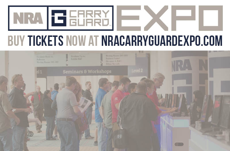 Attend FREE Seminars From Leading Experts at NRA Carry Guard Expo This September!