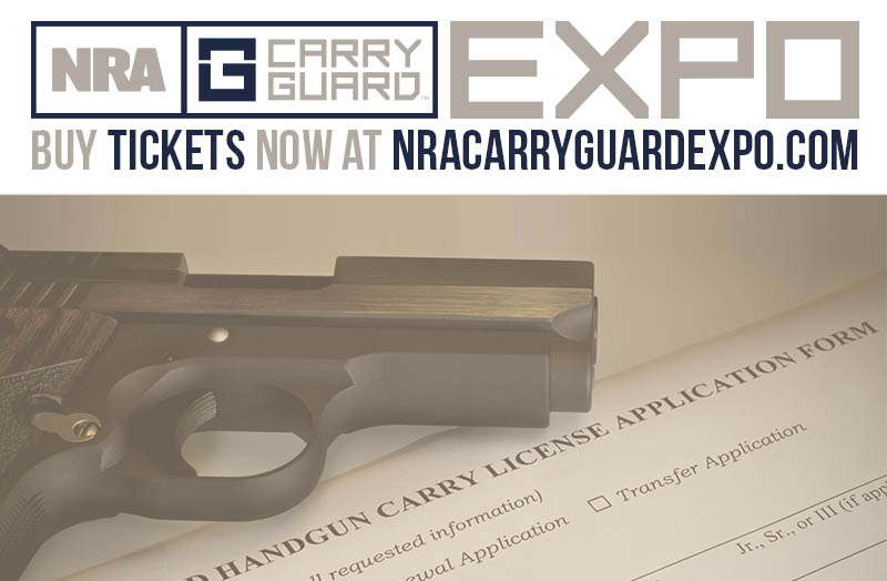 Sign Up Now For the All-Inclusive Multi-State Concealed Carry Permit Course at NRA Carry Guard Expo!