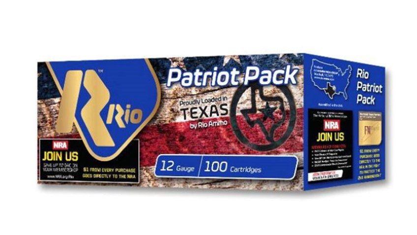 Rio Ammunition Packaging Supports NRA