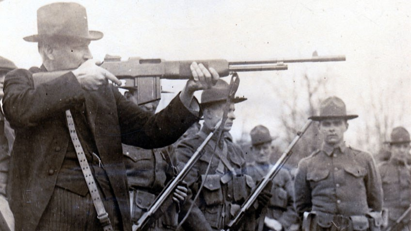 The U.S. Model Of 1918 Browning Automatic Rifle