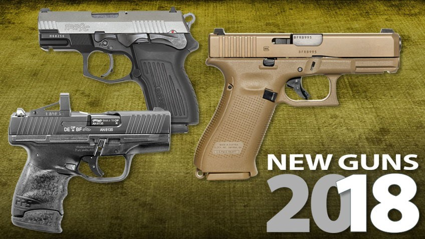 63 Brand-New Handguns Released in 2018
