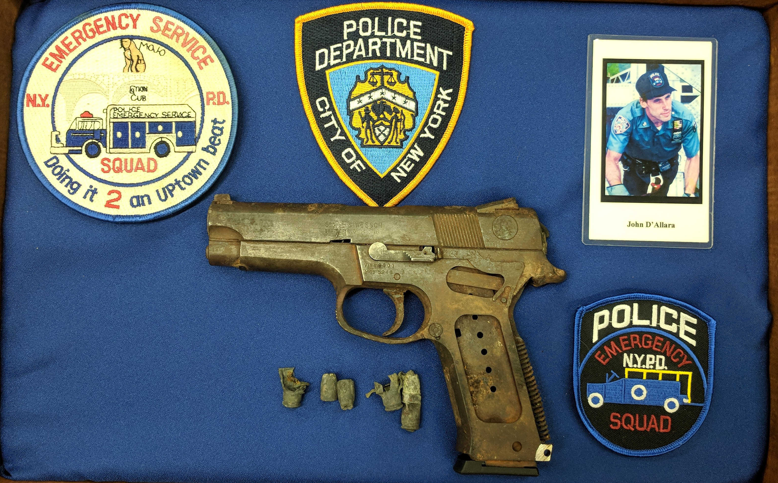 Another NYPD Gun from 9/11 Goes on Display at the National Firearms Museum