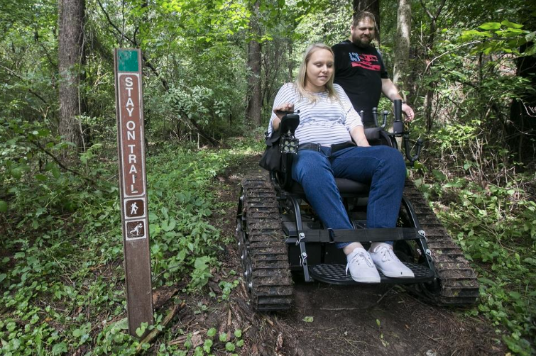 RRstar.com: Friends of NRA Grant Provides Outdoor Wheelchair to Allow Adaptive Hunting